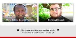 Ordinations diaconale et presbytérale Marie-Debrice Dongmo Tiomela et Emmanuel Renault, Cathédrale Saint-Étienne de Limoges, dimanche 13 septembre 2020