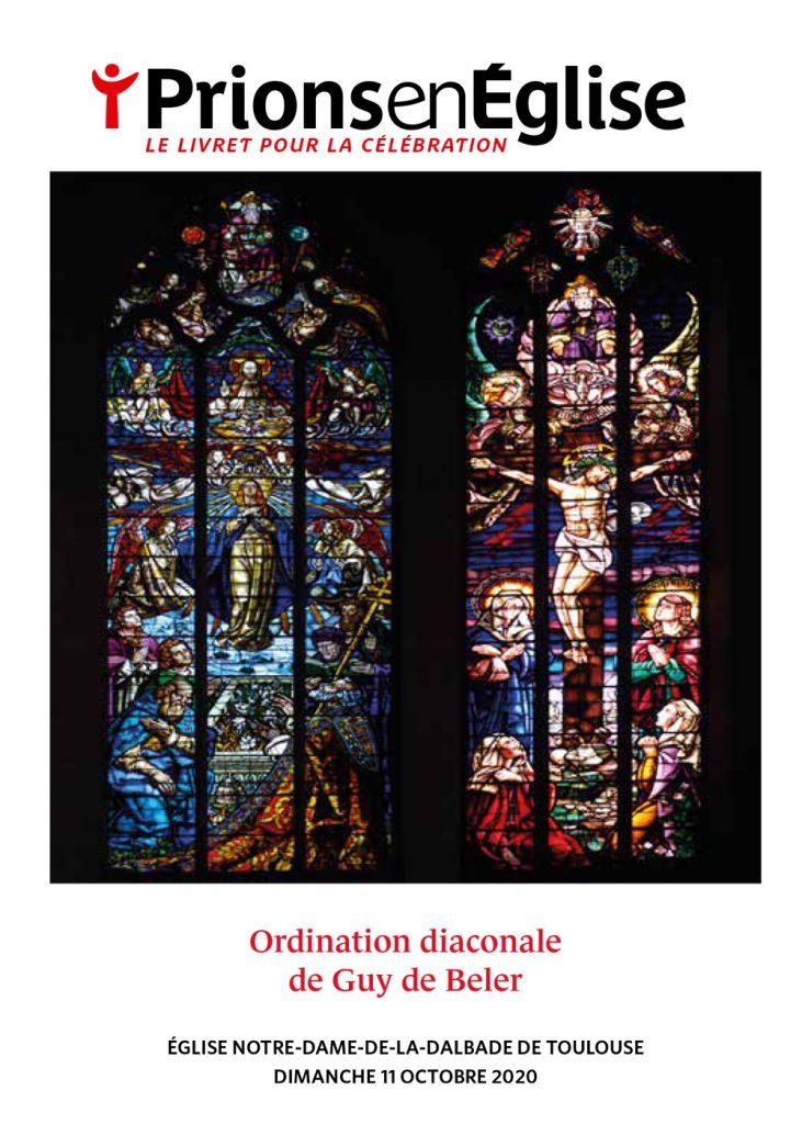 Ordination diaconale de Guy de Beler - Église Notre-Dame-de-la-Dalbade de Toulouse, dimanche 11 octobre 2020