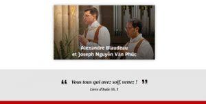 Ordination presbytérale d'Alexandre Blaudeau et de Joseph Nguyễn Văn Phúc - Cathédrale Sainte-Marie de Bayonne, le samedi 26 juin 2021 - Diocèse de Bayonne, Lescar et Oloron