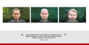 Ordination presbytérale d'Adrien Dagois, Séverin Lang et Amaury Martini - Primatiale Saint-Jean-Baptiste de Lyon, le dimanche 27 juin 2021 – Diocèse de Lyon