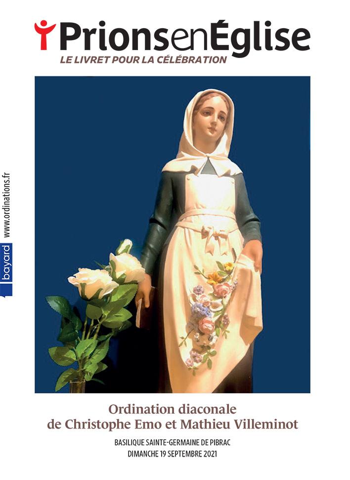 Ordination diaconale de Christophe Emo et Mathieu Villeminot - Basilique Sainte-Germaine de Pibrac, le dimanche 19 septembre 2021 - Diocèse de Toulouse